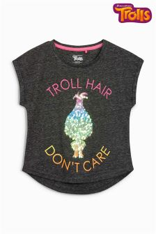 Trolls Slogan T-Shirt (3-16yrs)