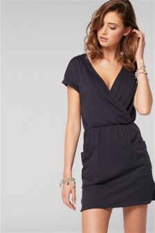 Cotton Pocket Dress
