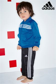 adidas Infant Blue Tracksuit