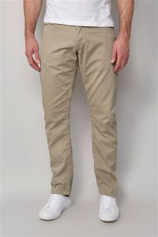 Laundered Five Pocket Trousers