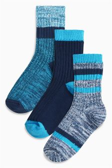Boot Socks Three Pack (Older Boys)