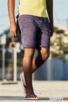 Superdry Navy Sun Scorched Beach Short