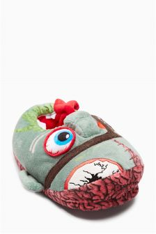 3D Monster Head Slippers (Older Boys)