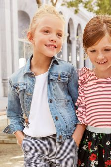 Buy Older Girls Younger Girls coats and jackets Blue from the Next ...