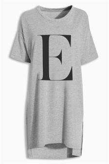 Jersey Alphabet Night T-Shirt