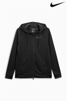 Nike Gym Black Dry Zip Through Hoody