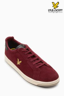 Lyle & Scott Claret Burchill Trainer