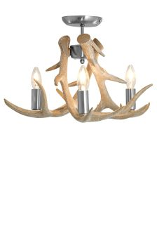 Antler 3 Light Flush