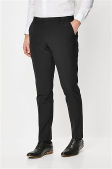 Signature Italian Wool Suit: Trousers