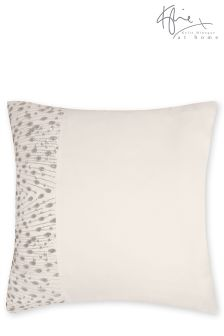 Kylie Eva Oyster Square Pillowcase