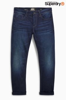 Superdry Dark Wash Copperfill Loose Fit Jean