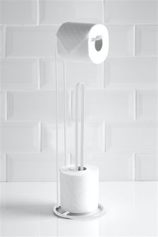 Loo Roll Stand And Store Studio Collection By Next