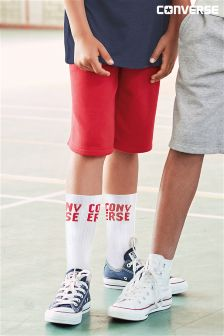 Converse Red Core Shorts