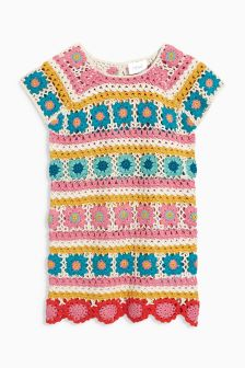 Crochet Jumper Dress (3mths-6yrs)