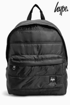 Hype Black Backpack