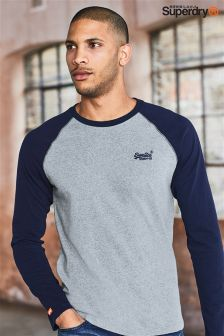 Superdry Raglan Baseball Long Sleeve T-Shirt