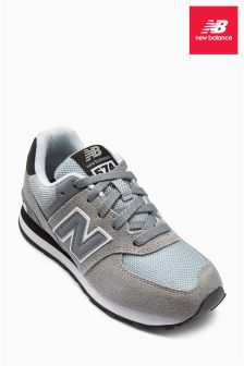 New Balance Grey 574 Trainer