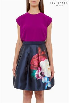 Ted Baker Purple Fitted Top
