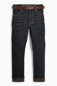 Skinny Belted Jeans (3-16yrs)