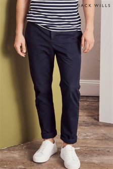 Jack Wills Navy Keady Slim Chino