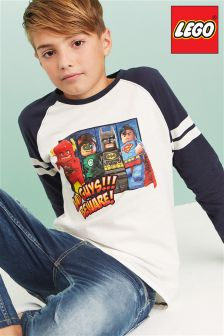 Lego DC Raglan T-Shirt (4-12yrs)