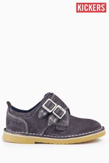Kickers® Navy Adlar Monk Shoe