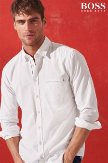 Boss Orange White Elvedge Shirt
