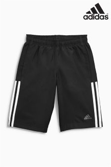 adidas Essential Black 3 Stripe Short
