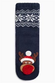 Reindeer Socks (Older Boys)