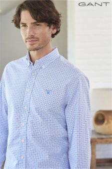Gant Gingham and Dot Shirt