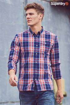 Superdry Red Tartan Check Shirt