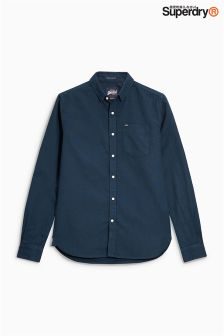 Superdry Navy Oxford Shirt