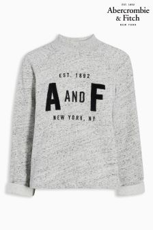Abercrombie & Fitch Grey High Neck Sweat