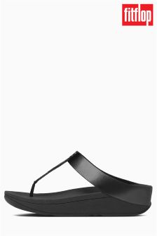 FitFlop™ Black Roxy Toe Post