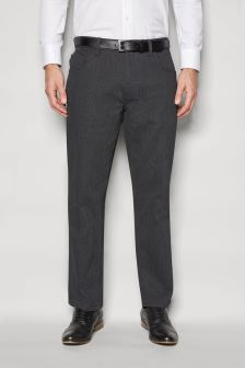 Smart Belted Trousers