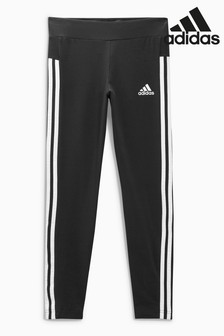 adidas Black 3 Stripe Legging