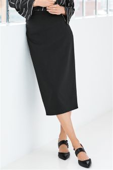 Tailored Pencil Skirt