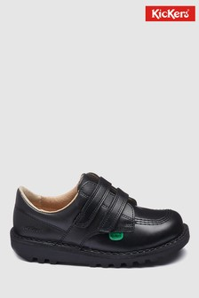 Kickers® Kick Low Black Velcro Shoe