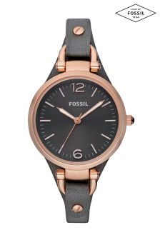 Fossil™ Grey Georgia Analogue Watch