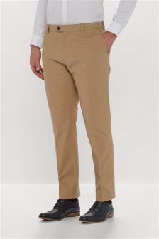 Signature Cotton Trousers