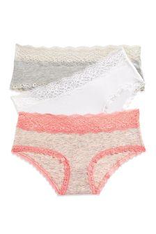 Cotton Shorts Three Pack