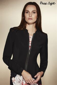 Phase Eight Black Philippa Seamed Jacket