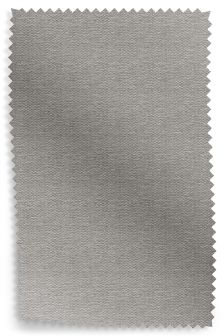 Herringbone Weave Light Grey Fabric Roll
