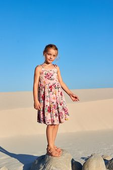 Joules Kimberley French Navy Floral Notch Neck Tunic
