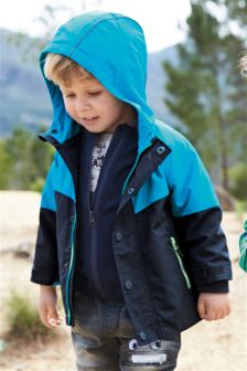 3 In 1 Colourblock Jacket (3mths-6yrs)