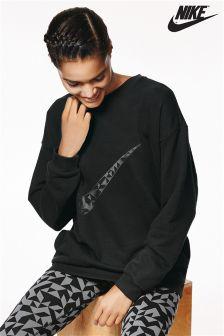 Nike Black Sportswear Crew