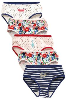 Printed Briefs Five Pack (1.5-12yrs)