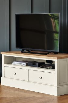 Shaftesbury Painted Corner TV Unit