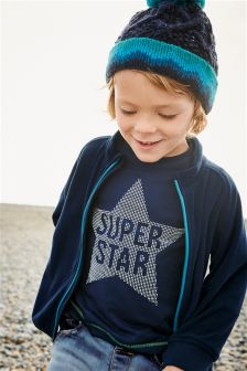Super Star Long Sleeve Top (3mths-6yrs)
