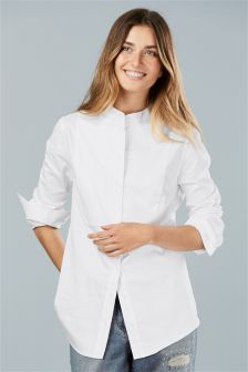 Sateen Bib Shirt